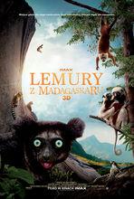 Plakat filmu Lemury z Madagaskaru 3D