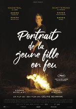 Plakat filmu Portret kobiety w ogniu